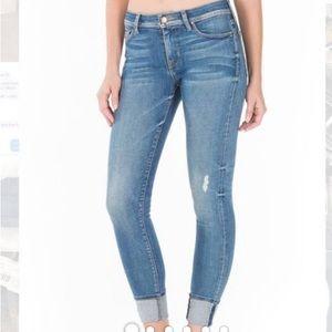 FIDELITY DENIM Mila Crop Mid-Ankle Slim jeans